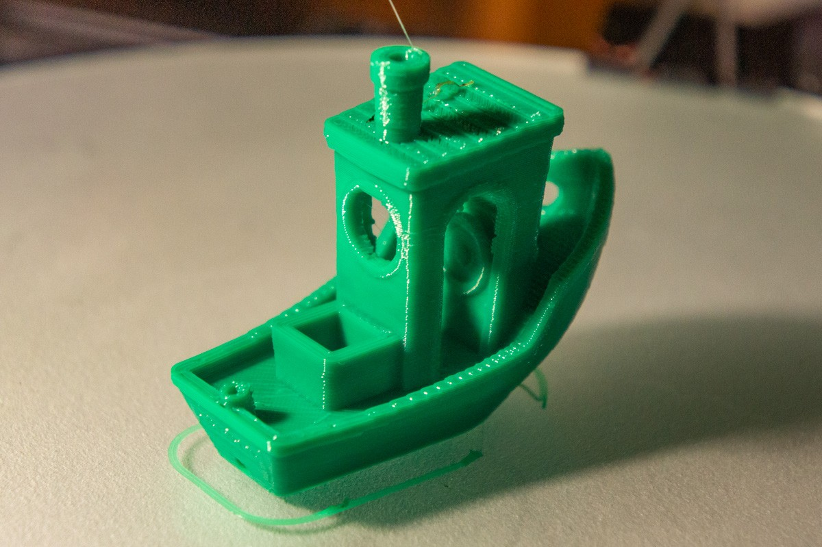 Benchy Printed with PETG